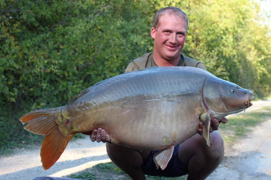 Andy with The Wright Fish at 51.08lbs