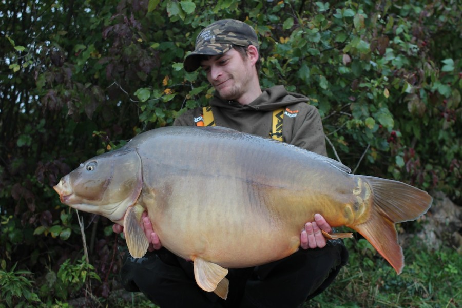 Dan with the impressive Hammer at 47.00lbs