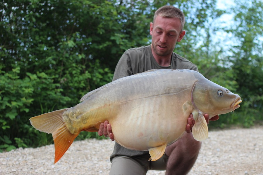 Steve with his new PB at 45lb