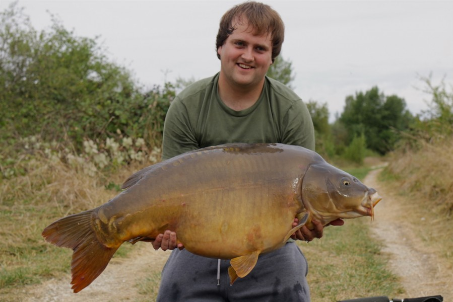 Karl with Ron's at 46lb