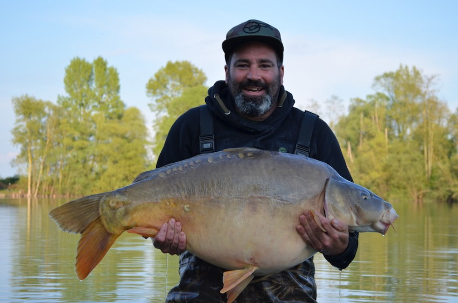 Steve with Pin scale at 47lb from T2