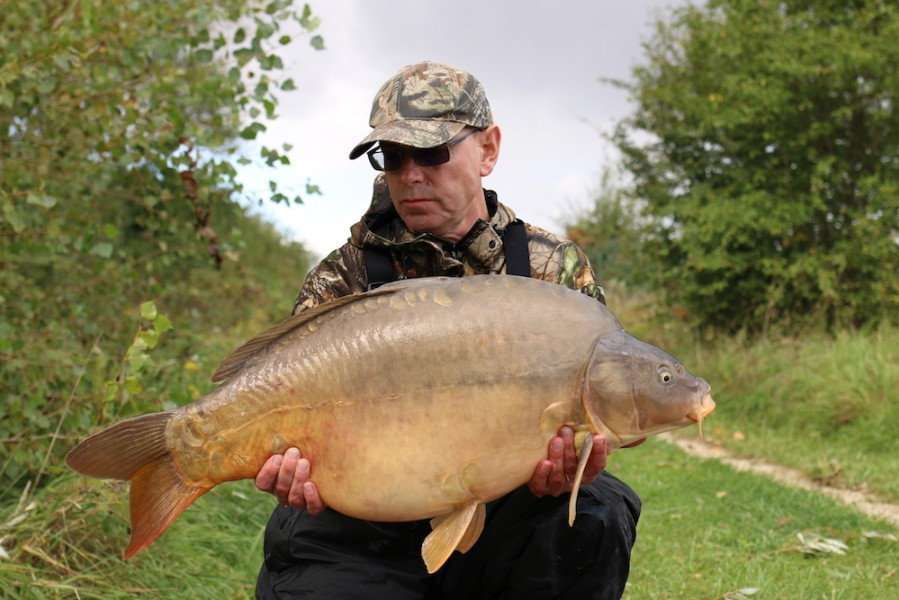 Mark Norman, 34lb 8oz, Turtle's Corner, 09.09.17