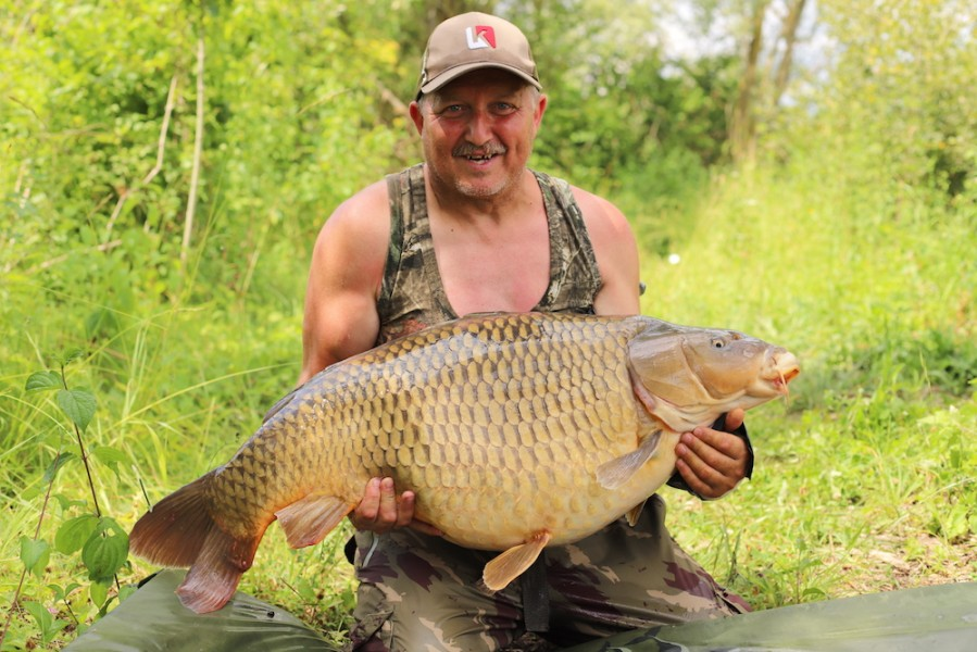 Paul Robson 44lb8oz Shingles 30.6.18