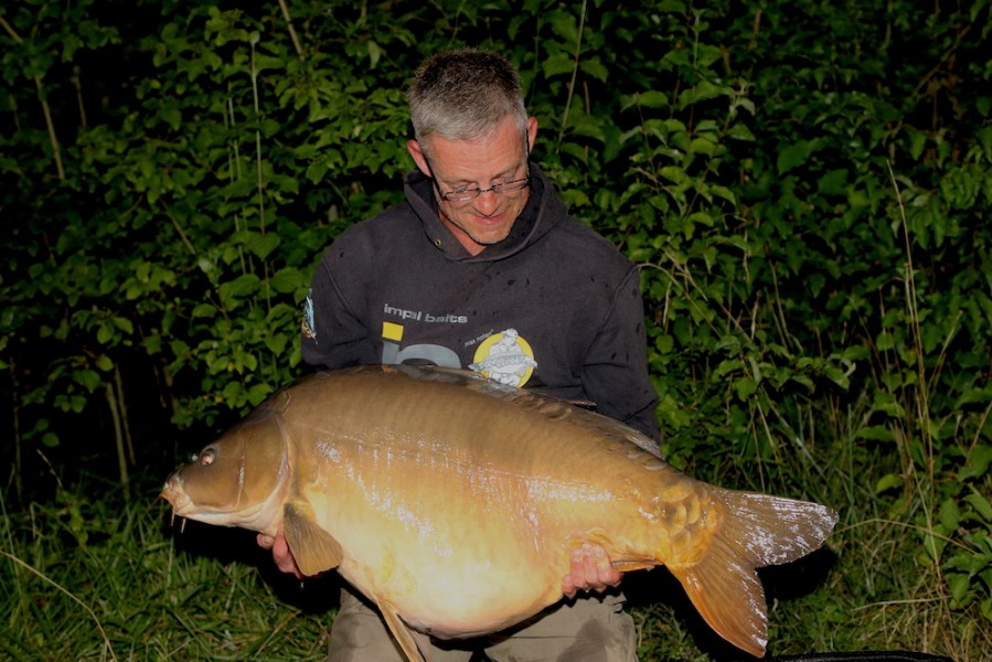 Mike Willnow, 52lb, The Goo, 21.7.18
