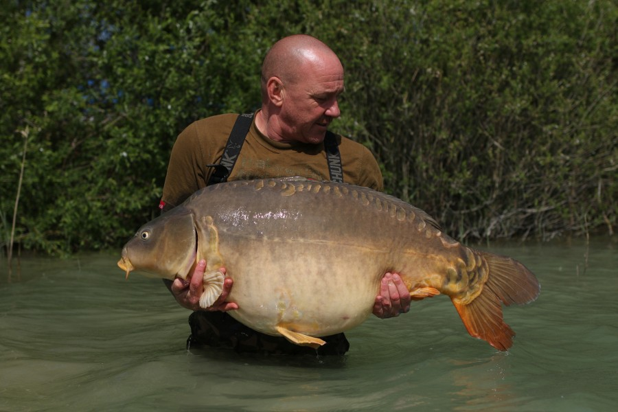 Dan Walker, 58lb 8oz, Tea Party, 11/05/19