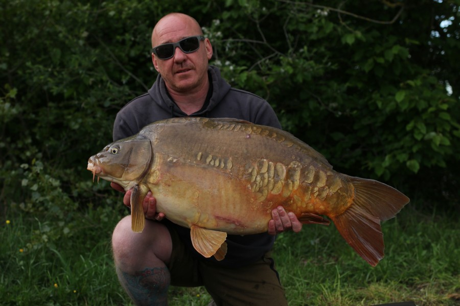 Dan Walker, 36lb, Tea Party, 11/05/19