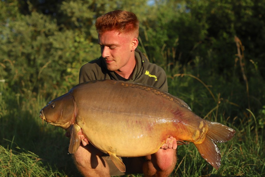 Dan Price, 43lb 8oz, Turtle Corner, 22.06.19