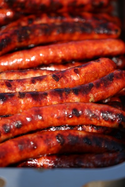 "Merguez sausages....""simply lovely"""