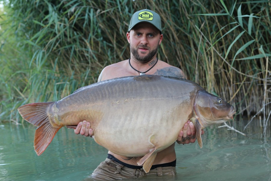 Lee Edman's with Hansen at 58lb from Bachilars 20/07/2019