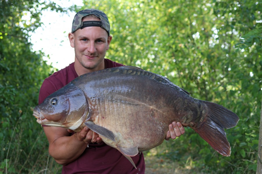 Rob Burgess with Fleur at 35lb from Eastwoods 20/7/19