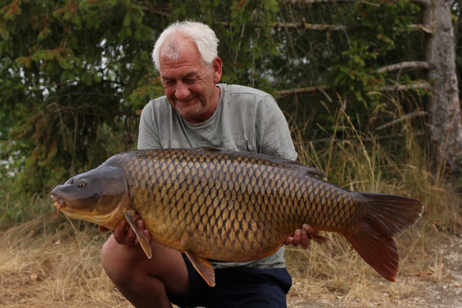Roy With Maggie at 42lb 12oz from The Beach 20/7/19