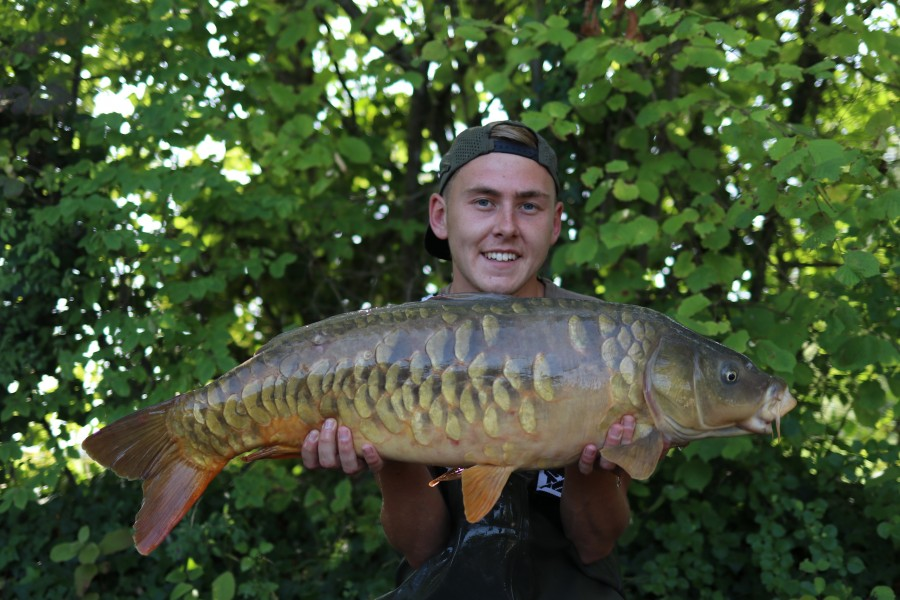 Joe Reed with Bobby at 25lb from The Beach 17/8/2019