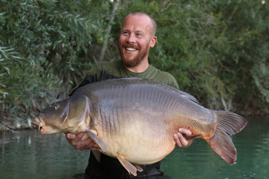 Ieuan Jones with The Nose at 56lb from Turtles 24.08.19