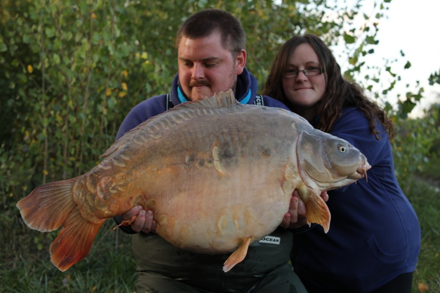 Michael O'Regan, 43lb 12oz, Turtles Corner, 28/09/19