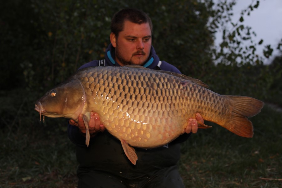 Michael O'Regan, 39lb 4oz, Turtles Corner, 28/09/19