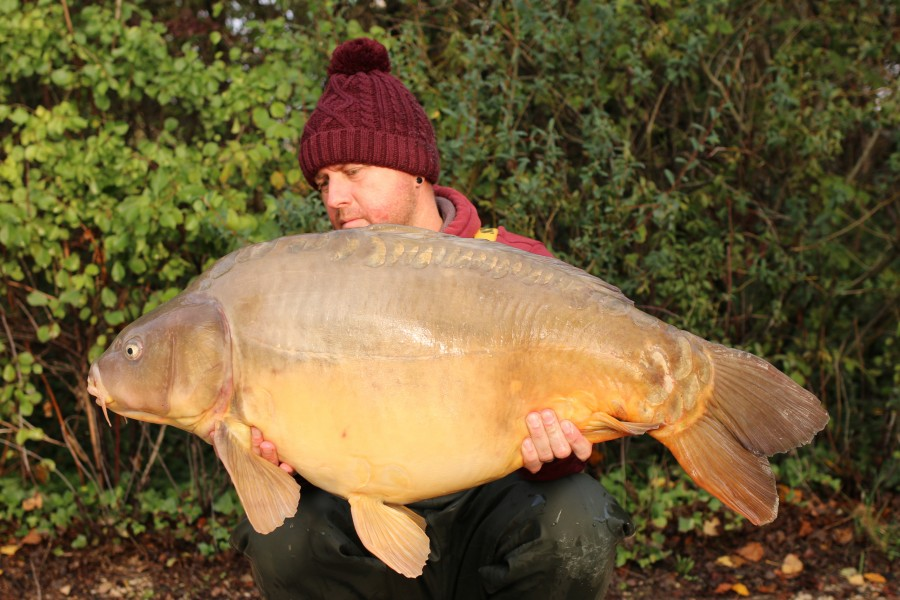 "Darren Gowler banked ""Pac Man"" at an awesome weight of 43lb 8oz........"